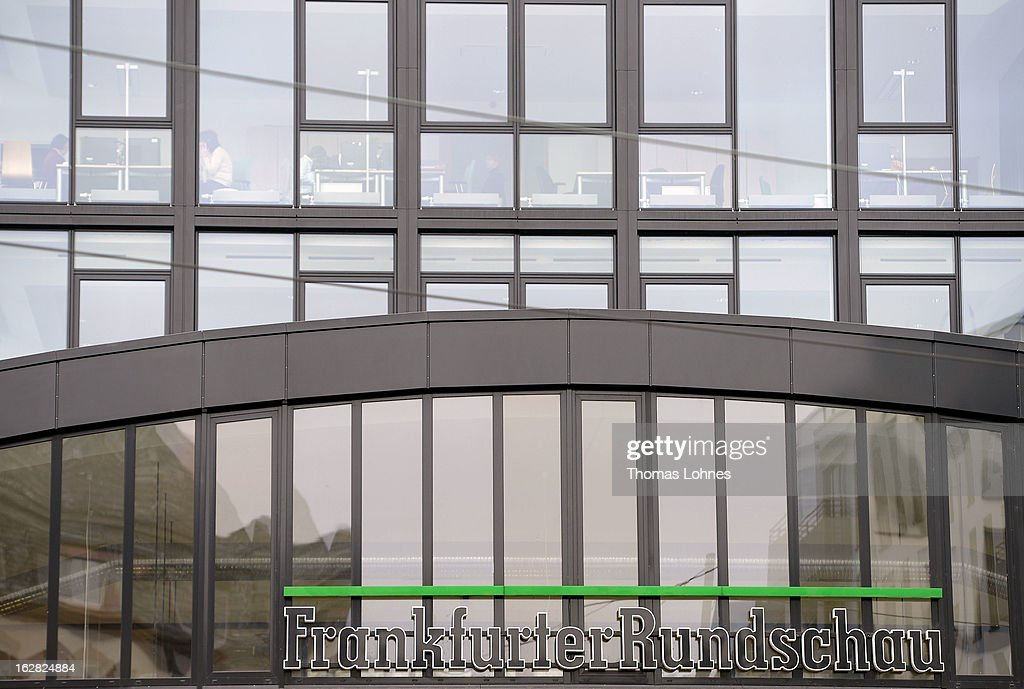 A general view of the Frankfurter Rundschau heatquaters on February 28, 2013 in Frankfurt am Main, Germany. The Frankfurter Rundschau has been bought by the Frankfurter Allgemeine Zeitung after the Federal Cartel Office in Bonn allowed the acquisition on Wednesday afternoon.