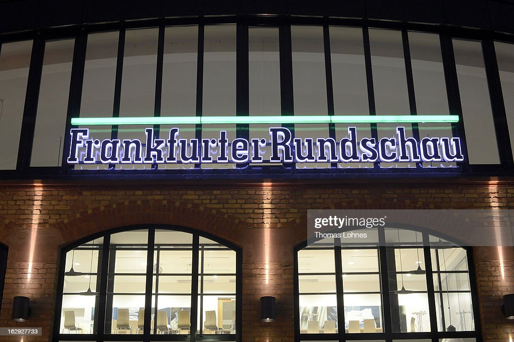 A general view of the Frankfurter Rundschau heatquaters on March 1, 2013 in Frankfurt am Main, Germany. The Frankfurter Rundschau has been bought by the Frankfurter Allgemeine Zeitung after the Federal Cartel Office in Bonn allowed the acquisition on Wednesday afternoon.