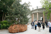 General view of the French pavilion on May 6 2015 in Venice Italy