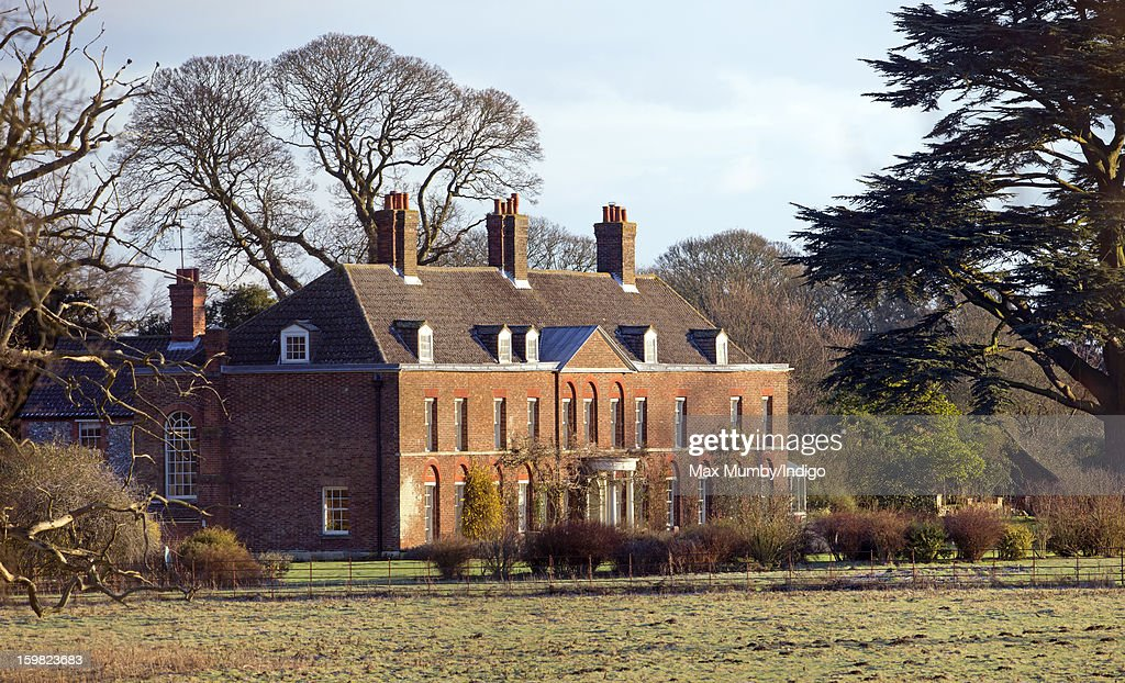 A general view of the front of Anmer Hall on the Sandringham Estate on January 13, 2013 in King's Lynn, England. It has been reported that Queen Elizabeth II is to give Anmer Hall to Prince William, Duke of Cambridge and Catherine, Duchess of Cambridge to be their country house.