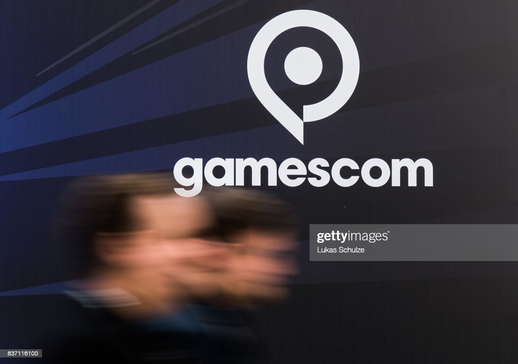 General view of the Gamescom 2017 video gaming trade fair on August 22, 2017 in Cologne, Germany. Gamescom is the world's second-largest games fair and attracts over 300,000 visitors. The 2017 fair will be open to the public from August 23-26.