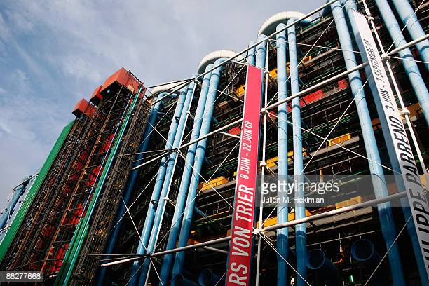 General view of the Georges Pompidou center on June 7 2009 in Paris France Obama and his family were enjoying a day of sightseeing in Paris after...