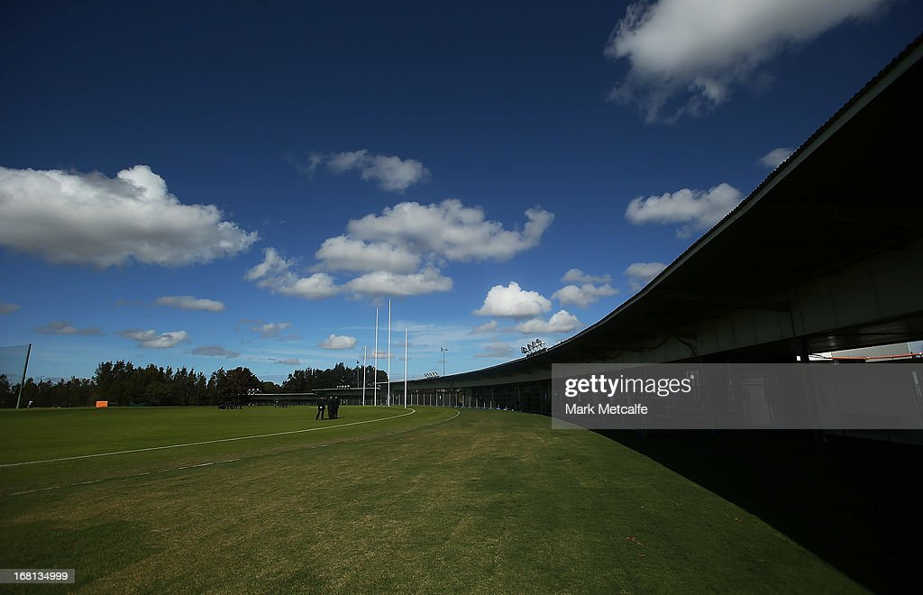 A general view of the Giants new training facility during a GWS Giants AFL media session at Sydney Olympic Park Sports Centre on May 6, 2013 in Sydney, Australia.