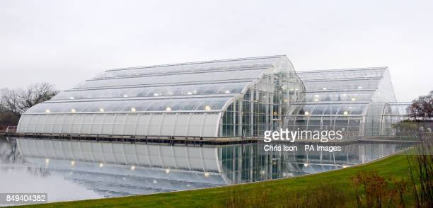 A general view of the glasshouse at RHS Wisley near Woking Surrey