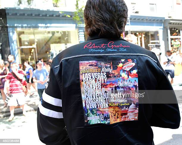 A general view of the goldRush Rally shirt by Robert Graham at the Robert Graham and California Pizza Kitchen Celebrate Grand Finale of goldRush...