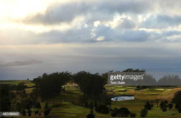 General view of the golf course during day two of the Madeira Islands Open Portugal BPI at Club de Golf do Santo da Serra on July 31 2015 in Funchal...