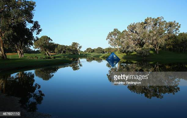 A general view of the golf course during the first round of the Trophee Hassan II Golf at Golf du Palais Royal on March 26 2015 in Agadir Morocco