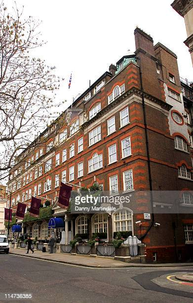 General view of The Goring Hotel on April 15 2011 in London England Clarence House has confirmed that Catherine Middleton and her family will stay at...