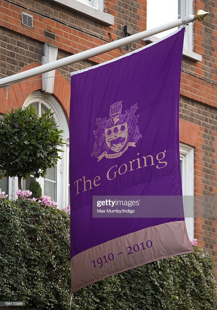 A general view of the Goring Hotel where Queen Elizabeth II hosted a Christmas lunch for her close members of staff on December 03, 2012 in London, England.