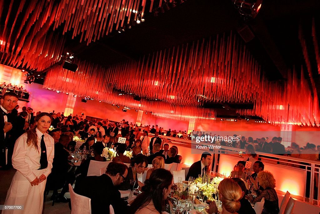 A general view of the Governor's Ball after the 78th Annual Academy Awards at The Highlands on March 5, 2006 in Hollywood, California.