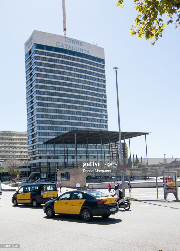 A general view of the Gran Hotel Torre Catalunya on September 13, 2017 in Barcelona, Spain. Nobu Hospitality, founded by Robert de Niro, Meir Teper and chef Nobu Matsuhisa with the Selenta Group have acquired the property and will transform the hotel into Nobu Hotel Barcelona and is scheduled to be open in late 2018.
