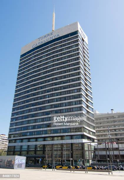 A general view of the Gran Hotel Torre Catalunya on September 13 2017 in Barcelona Spain Nobu Hospitality founded by Robert de Niro Meir Teper and...