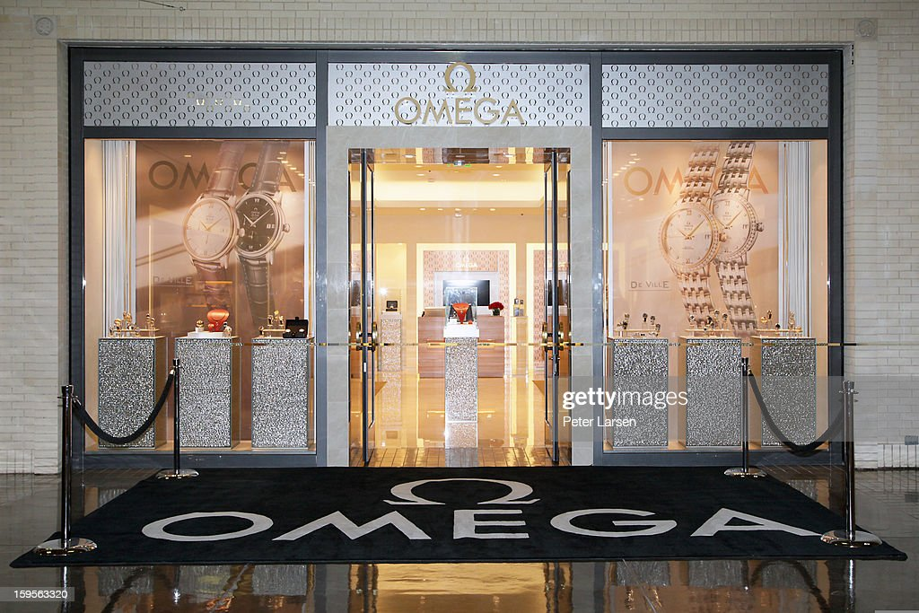 General view of the Grand Opening of the Omega Boutique at NorthPark on January 15, 2013 in Dallas, Texas.