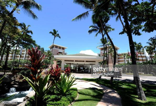A general view of the Grand Wailea Hotel during the 2010 Maui Film Festival on June 19 2010 in Wailea Hawaii