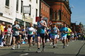 A general view of the Great Manchester Run on May 23 2004 in Manchester United Kingdom