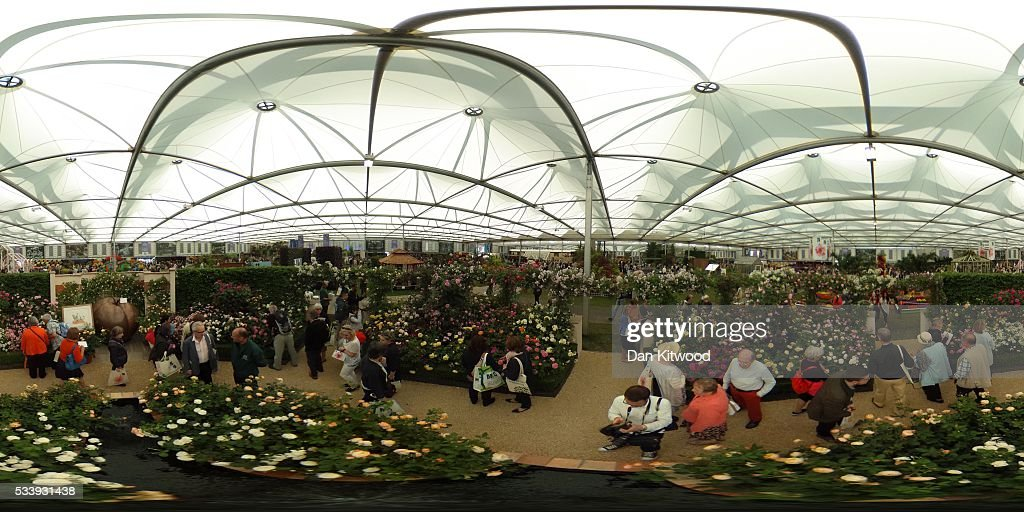 A general view of the Great Pavilion during the Chelsea Flower Show at Royal Hospital Chelsea on May 24, 2016 in London, England. The show, which has run annually since 1913 in the grounds of the Royal Hospital Chelsea, is open to the public from 24-28 May.