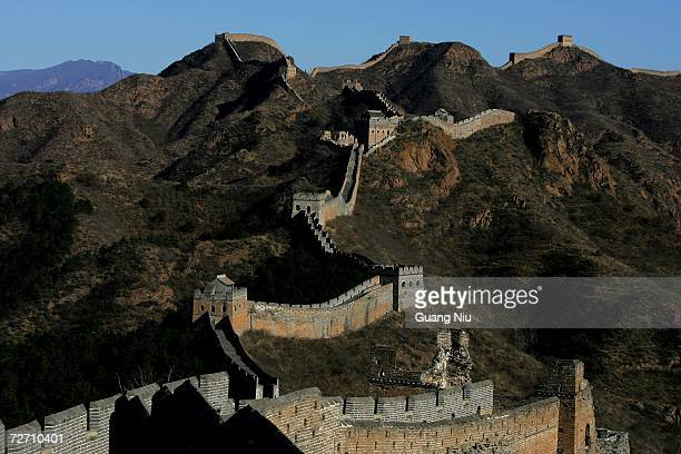 A general view of the Great Wall on December 3 2006 in Beijing China Beijing will be the host city for 2008 Summer Olympic Games
