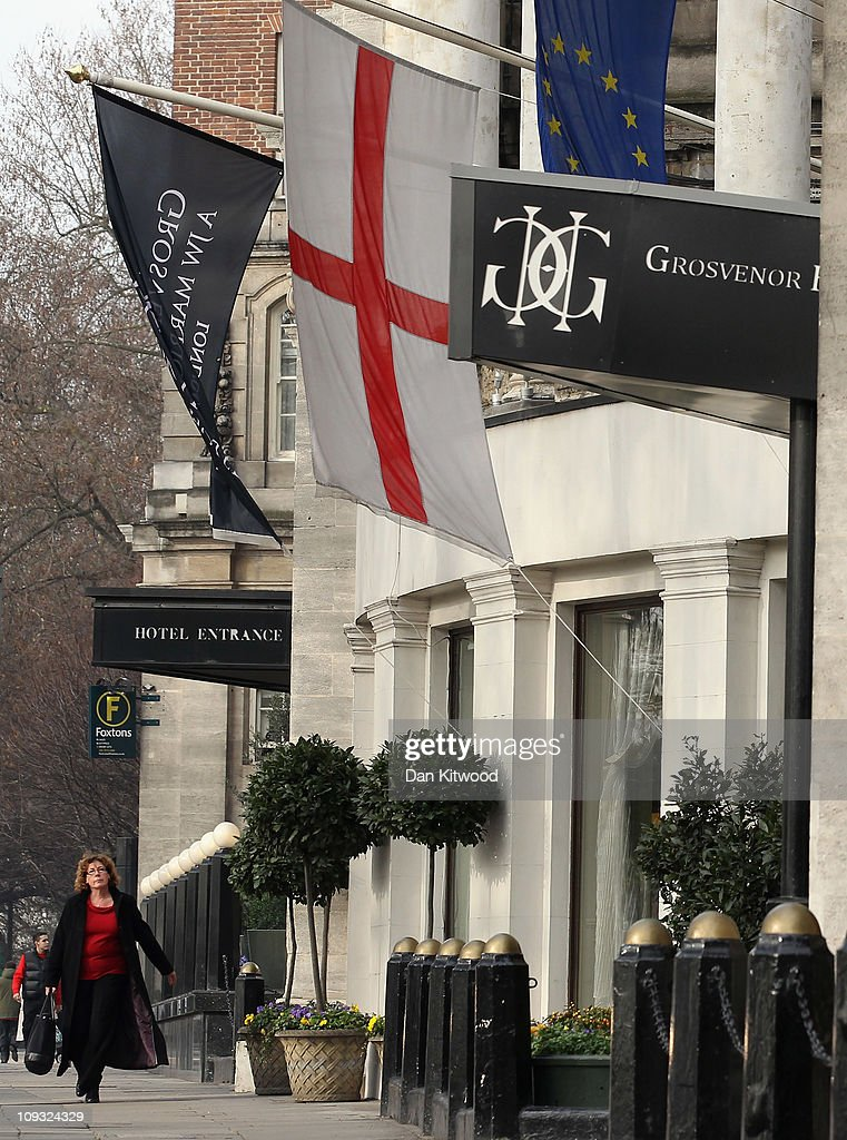 A general view of the Grosvenor Hotel on February 17, 2011 in London, England.