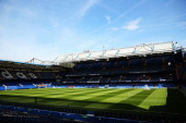 General view of the ground before the Barclays Premier League match between Chelsea and Norwich City at Stamford Bridge on May 4 2014 in London...