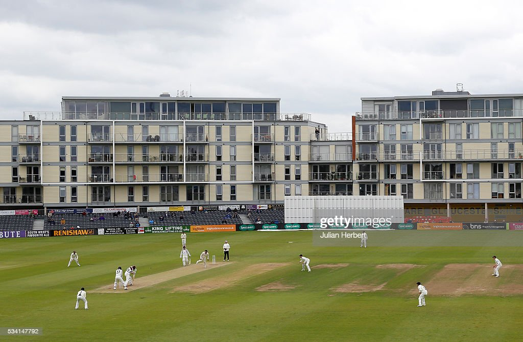 A general view of the ground during day four of the Specsavers Division Two match between Gloucestershire and Northamptonshire at The County Ground on May 25, 2016 in Bristol, England.