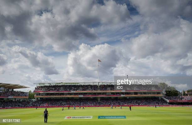 A general view of the ground during The ICC Women's World Cup 2017 Final between England and India at Lord's Cricket Ground on July 23 2017 in London...