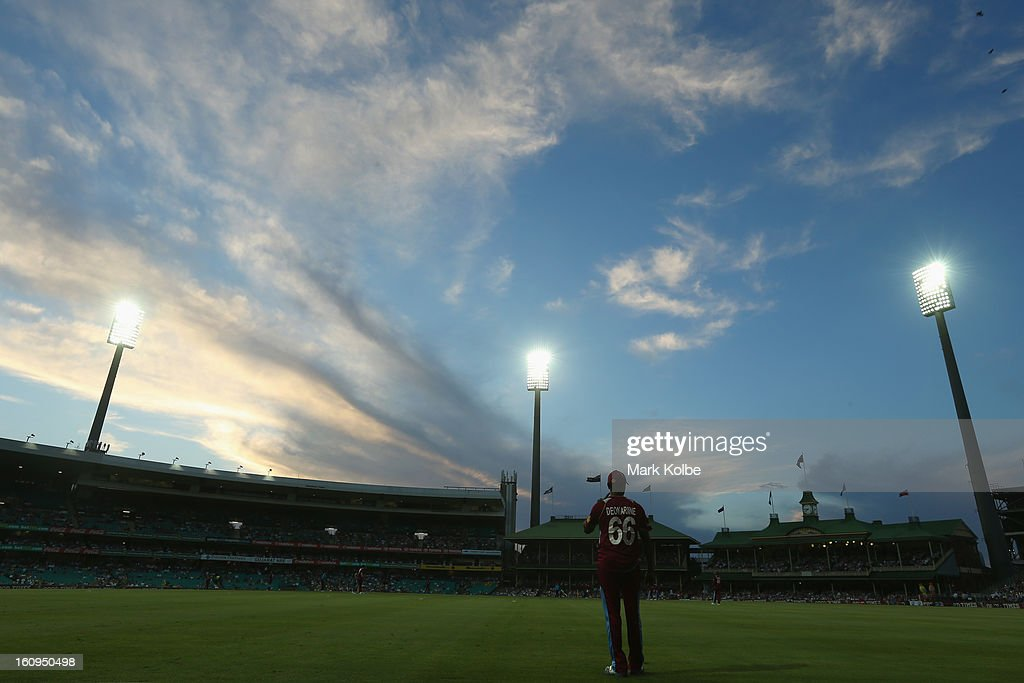 A general view of the ground is seen during game four of the Commonwealth Bank One Day International Series between Australia and the West Indies at Sydney Cricket Ground on February 8, 2013 in Sydney, Australia.