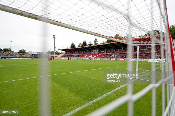 A general view of the ground is seen prior to the Third League match between Wuerzburger Kickers and Dynamo Dresden at flyeralarm Arena on August 1...