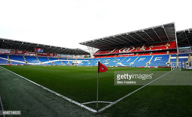 A general view of the ground prior to the Sky Bet Championship match between Cardiff City and Leeds United at Cardiff City Stadium on November 1 2014...