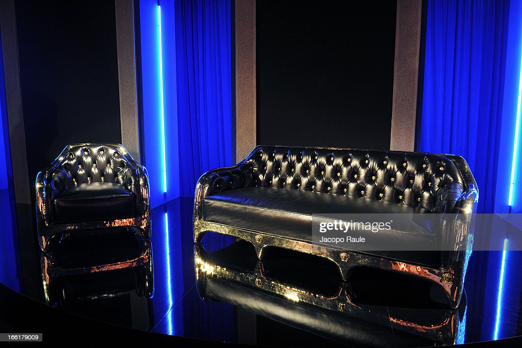 general view of The Haas Bothers For Versace Home during 2013 Milan Design Week on April 9, 2013 in Milan, Italy.