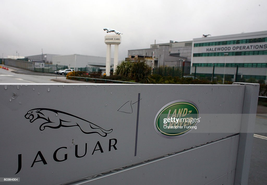 A general view of the Halewood operations site of Jaguar and Land Rover on March 26 2008 near Liverpool in Merseyside England Parent owner Ford is...