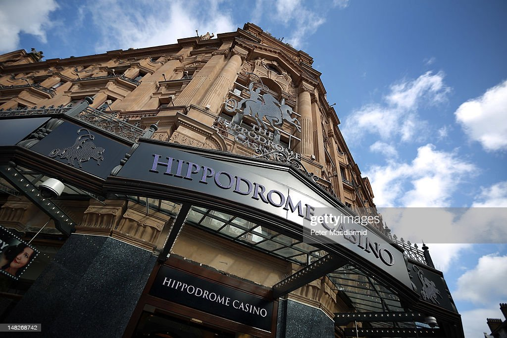 A general view of The Hippodrome Casino near Leicester Square on July 13, 2012 in London, England. The new casino has five floors and 90,000 square feet of slot machines, blackjack and roulette tables.