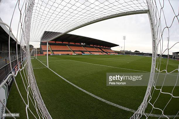 A general view of the Hive prior to the Sky Bet League Two match between Barnet and Northampton Town at The Hive on August 18 2015 in Barnet England