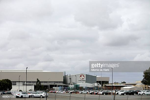 A general view of the Holden manufacturing facility in Elizabeth on December on December 11 2013 in Adelaide Australia Holden have announced plans to...