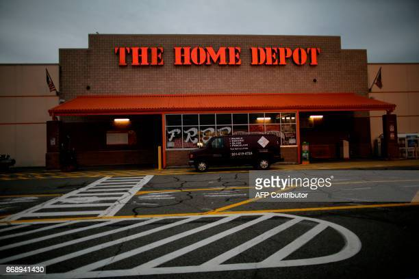 General view of the Home Depot store where suspect Sayfullo Saipov rented a truck on November 1 in Passiac New Jersey A pickup driver killed eight...