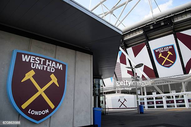 A general view of the home of West Ham United football club at London Stadium on November 3 2016 in Stratford England David Edmonds the chairman of...