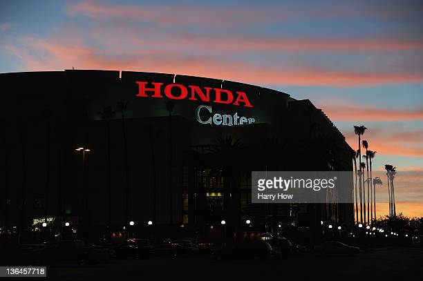 General View of the Honda Center on December 29 2011 in Anaheim California