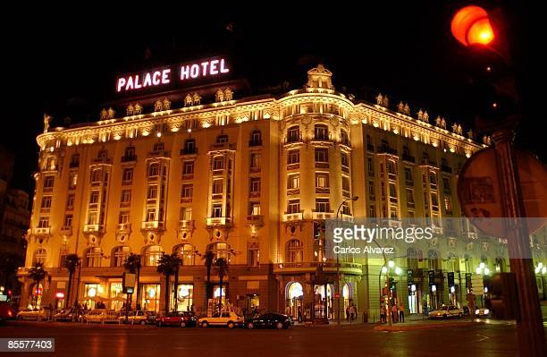 General view of the Hotel Palace on March 21 2009 in Madrid Spain