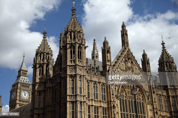 A general view of The Houses of Parliament on April 18 2017 in London United Kingdom British Prime Minister Theresa May announced earlier today in a...