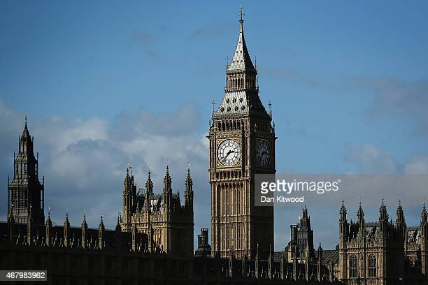 A general view of the Houses of Parliament on March 26 2015 in London England Parliament is to dissolve on March 31st leaving six weeks of political...