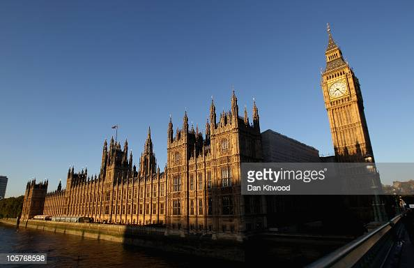 A general view of the Houses of Parliament on October 20 2010 in London England The Chancellor of the Exchequer George Osborne is announcing the...