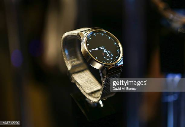 General view of the Huawei Watch Launch event at Mondrian Hotel on November 4 2015 in London England