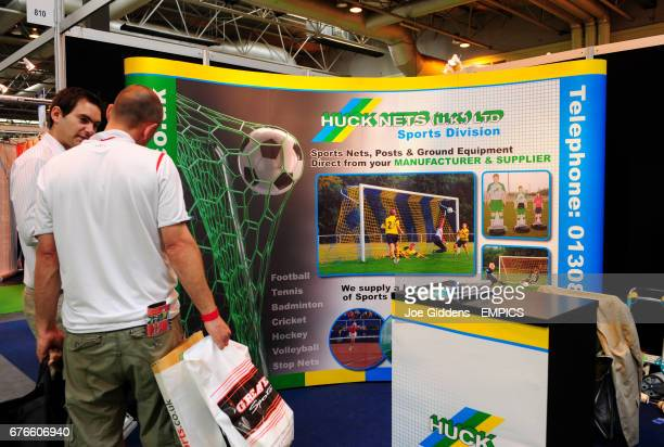 General view of the Huck Nets stand at Grass Roots Football Live