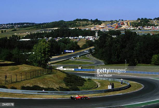 A general view of the Hungarian Grand Prix during the Hungarian Formula One Grand Prix held on August 24 2003 at the Hungaroring in Budapest Hungary