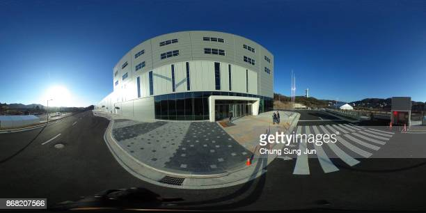 A general view of the IBC ahead of the PyeongChang 2018 Winter Olympic Games on October 30 2017 in Pyeongchanggun South Korea