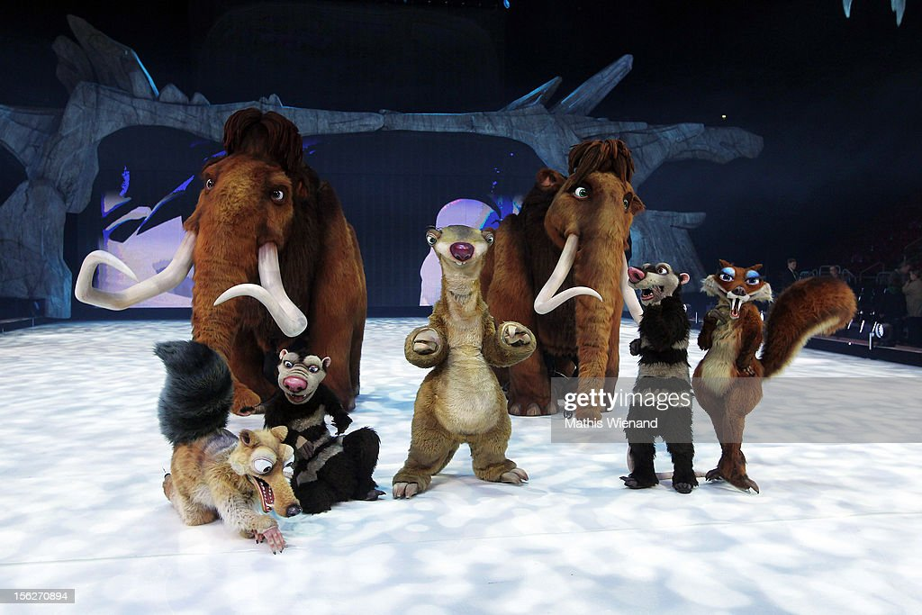A general view of the Ice Age Live! musical gala premiere on November 12, 2012 in Duesseldorf, Germany.