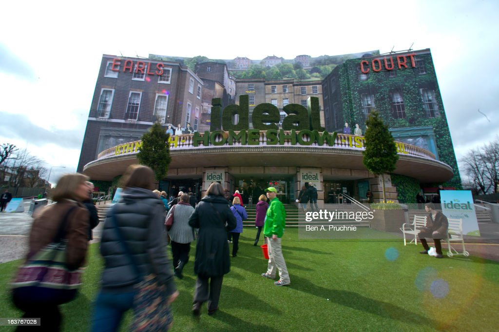 A general view of the Ideal Home Show at Earls Court on March 15, 2013 in London, England.