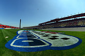 A general view of the infield before the NASCAR XFINITY Series Drive4Clotscom 300 at Auto Club Speedway on March 21 2015 in Fontana California