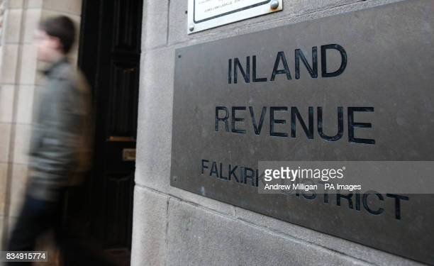 A general view of the Inland Revenue office in Falkirk after it was announced HM Revenue and Customs is to close a total of twenty offices at...