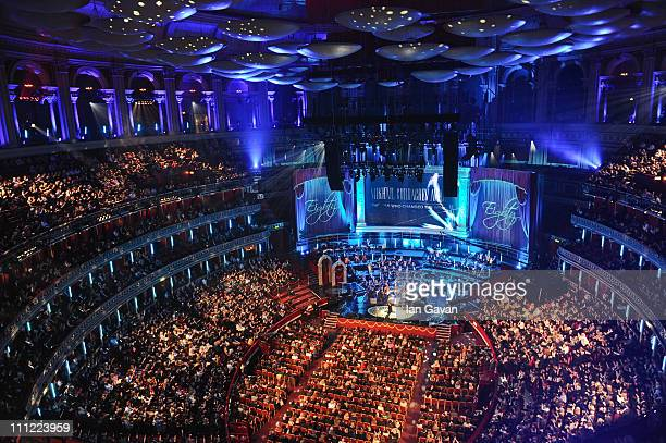 General view of the interior during the Gorby 80 Gala at the Royal Albert Hall on March 30 2011 in London England The concert is to celebrate the...