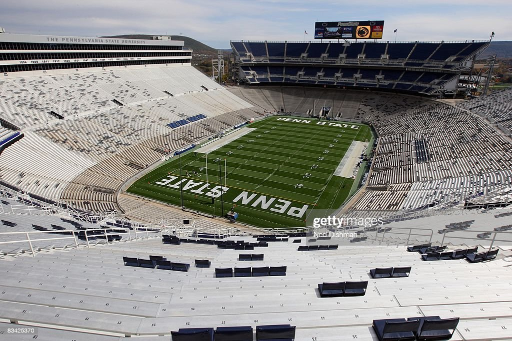 General view of the interior of Beaver Stadium prior to the Penn State Nittany Lions against the University of Michigan Wolverines at Beaver Stadium...